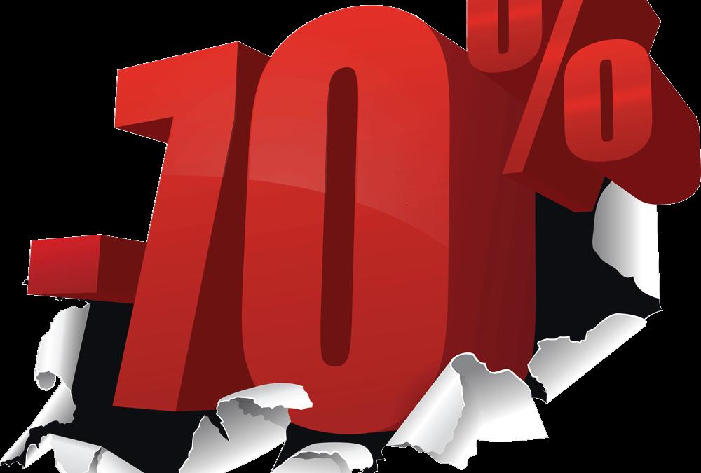 – Påskrea 70%